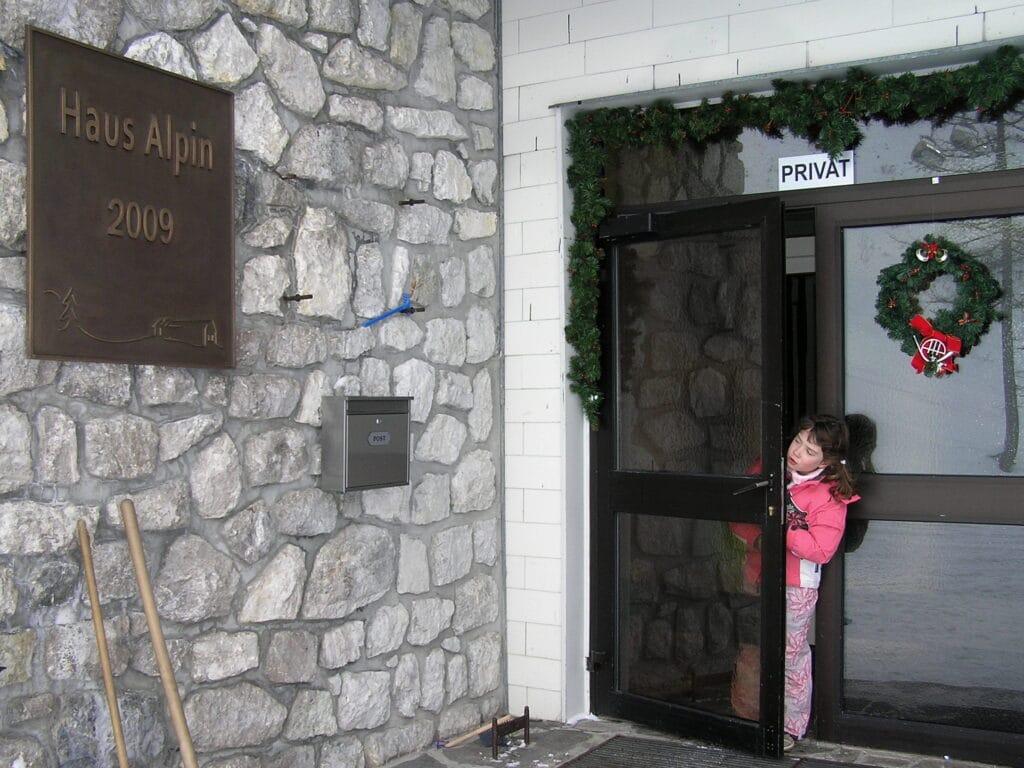 Historie Haus Alpinu 1